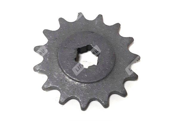 Звезда 15 зуб. ведущая на реверс ( скоростная звезда на мотобуксировщик Лидер с реверсом, + 11км/ч)
