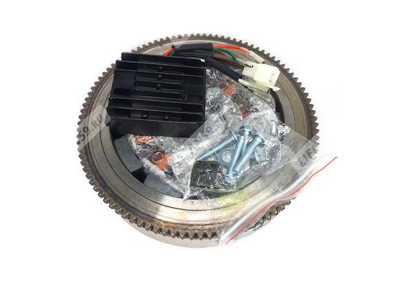 Комплект электрооборудования 182FD,188FD,190FD 132Вт (11А (для ЭЛЕКТРО стартера, с венцом)