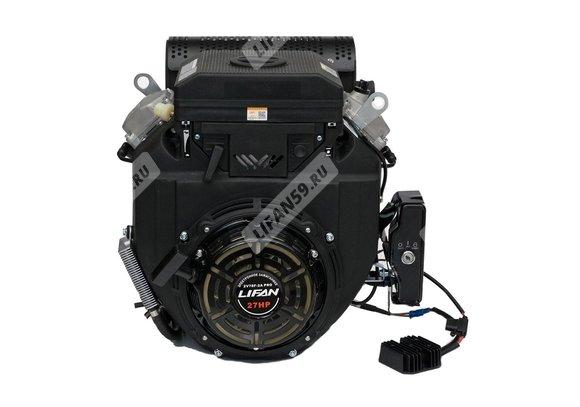 Двигатель Lifan 2V78F-2A PRO (27 л.с., 12В3А36Вт)