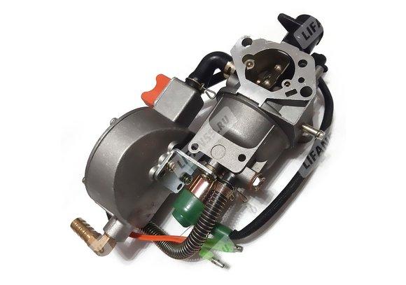 Адаптер газовый для бензогенератора с двигателем 182F/188F/190F (d27)