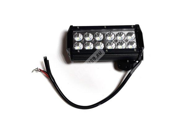 Фара светодиодная CL-36W-F (ближний свет, мет.корп.12 диодов) Арт.5187