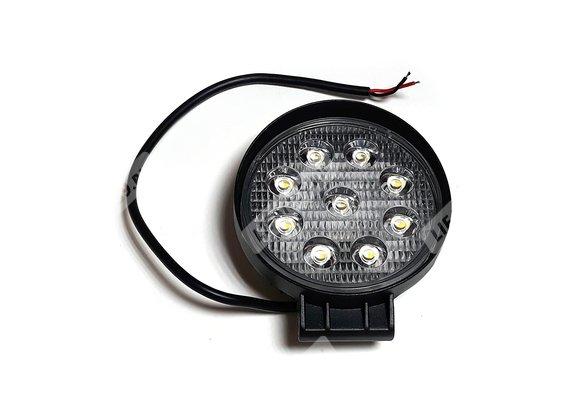 Фара светодиодная WL-827F (ближний свет, мет.корп.9 диодов) Арт.5182