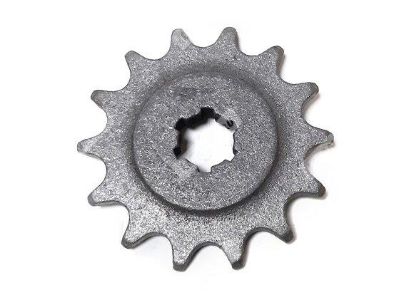 Звезда 14 зуб. ведущая на реверс ( скоростная звезда на мотобуксировщик Лидер с реверсом, + 7км/ч)