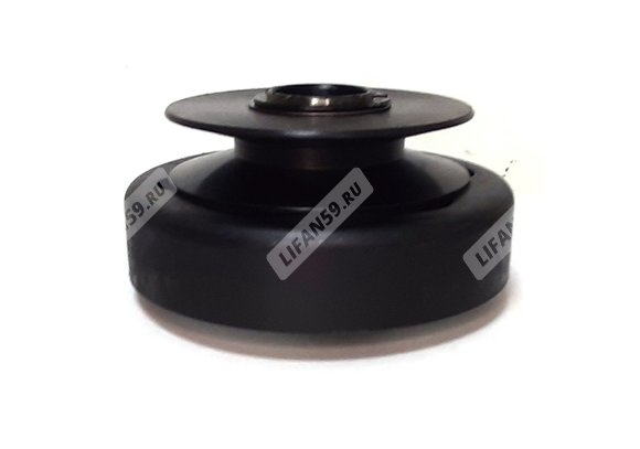 Сцепление центробежное, одноручейковое, фрикционное, под ремень В-типа, под вал 25 мм, 173F-190F, для мотоблоков