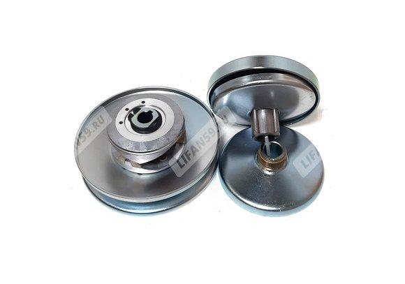 TAV 2-30 Кит-комплект вариаторов для самоделок (ведущий-под вал D19,05 мм,ведомый-под вал D16 мм)