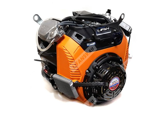 Двигатель Буран - Lifan 2V80FD-A (29 л.с., вариатор, все провода, колено глушителя, катушка зажигания 240Вт)