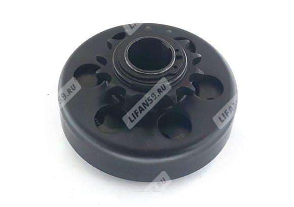 Сцепление центробежное под вал 25 мм (звезда 428-14T) для картинга и прочих самоделок