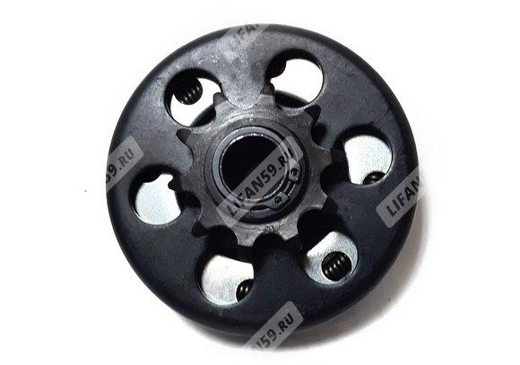 Сцепление центробежное под вал 19 мм (звезда 520-10T) для картинга и прочих самоделок