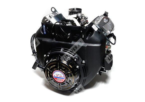 Двигатель Буран - Lifan 2V78F-2A (24 л.с., вариатор, все провода, колено глушителя, катушка зажигания 240Вт)