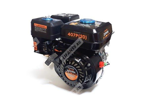 Двигатель Daman 107P