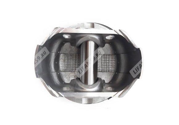 Поршень Lifan 192F-2 (KP 460)  (13311-A2610-0001) в сборе (кольца+палец+стопорные кольца)