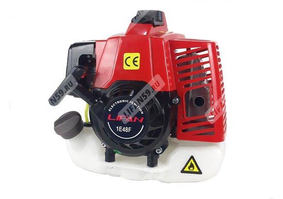 Двигатель для мотокосы LIFAN 3,0 л.с. 1E48F (2х тактный)