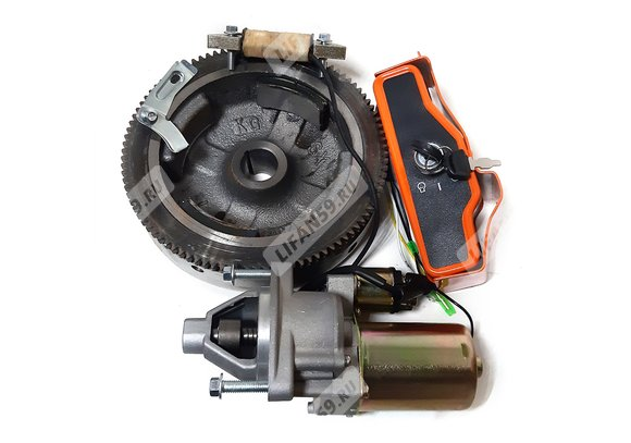 Комплект электрооборудования для установки электростартера на 182F,188F,190F,192F,192F-2